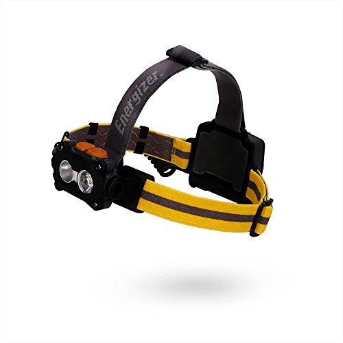 Energizer 5LED Head Taschenlampe Universal Aufsatz mit 3AAA Batterien enthalten, Mehrfarbig Energizer Headlight