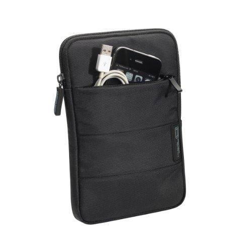 Tasche Zoll 7 Kostenloser Versand Tablet (PEDEA Tablet PC Tasche 'Just Black' für 7 Zoll (17,8cm) Tablet Schutzhülle Tasche Etui Case mit Zubehörfach, schwarz)