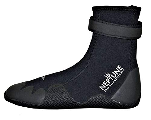 Gul 5mm NEPTUNE Pull On Boot BLACK Size 9