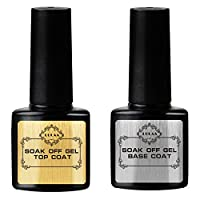Nail Care & Polish 8ml UV LED Soak Off Top Base Coat Long Lasting Nail Art Paint Polish Primer Nail oil Nail Decor, Long Lasting, Soak Off - Base Coat & Top Coat