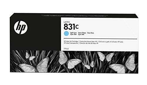HP 831C 775ml Light Cyan Latex Ink Cartridge (Light 775-ml)