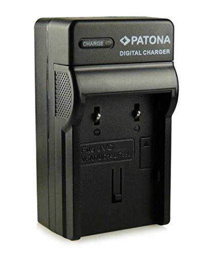 PATONA 3in1 Ladegerät für BN-VF707 BN-VF707U BN-VF714 BN-VF714U BN-VF733 BN-VF733U Akkus für JVC GR-D240 GR-D295 GR-D450 GR-D650 und weitere