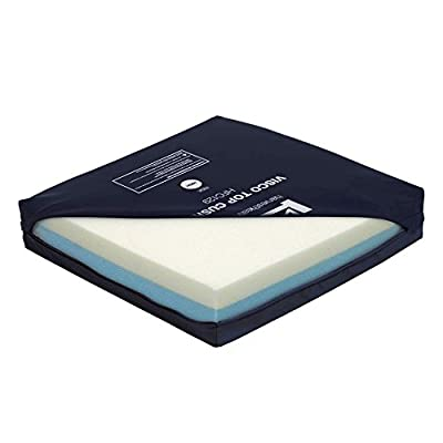 NRS Healthcare Visco Elastic Memory Foam Top Cushion (Eligible for VAT relief in the UK)