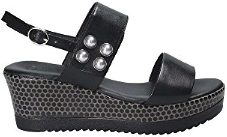 Donna  Uomo GRACE scarpe 50242 Sandalo Zeppa Donna Grande svendita Forte valore Rimborso della velocità | Di Qualità Fine  | Uomo/Donne Scarpa