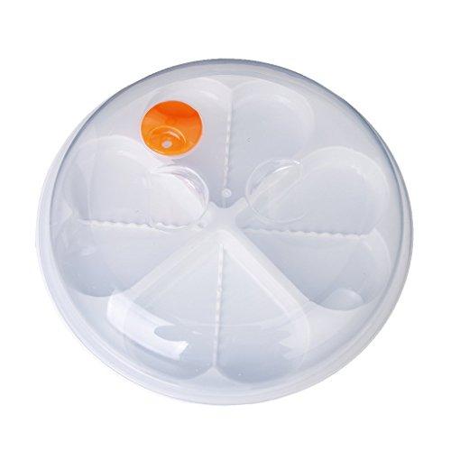 Hulday A Forma Di Cuore Microonde Egg Steamer Poacher Stufa Boiler Stile Semplice Uovo Design Fornello A Uovo Per Sano Campeggio Quotidiano (Color : Colour, Size : Size)