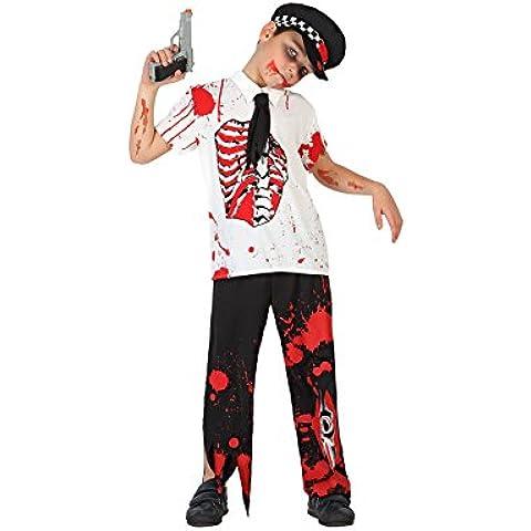 Atosa - 22771 - Traje - Policía De Zombie Costume - Boy - T3