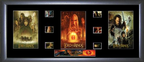 Lord of the Rings - LOTR - Film Cell Trilogy Ein Film Cell