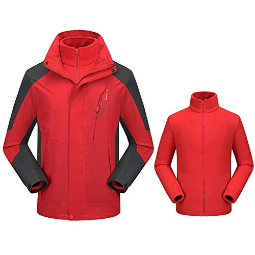 Artistic9-Kleidung Herren Softshell Jacke Outdoor Funktionsjacke Atmungsaktiv Winddicht Wasserdicht Outdoor Wanderjacke