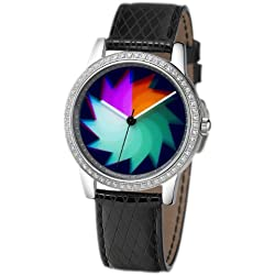 Rainbow e/motion of color Quartz Analogue AV21B-Wl-ga Ladies Watch