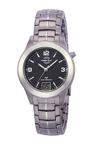 Master Time Funk Quarz Damen Uhr Analog-Digital mit Titan Armband MTLT-10350-22M