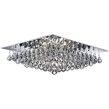 home amazon antique mount dp crystal rita bronze com chandelier flush