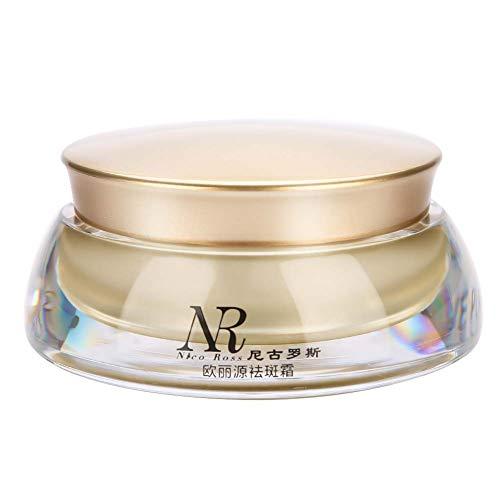 Crema de iluminación facial para la eliminación del punto de envejecimiento de pecas Hidratación de ácido hialurónico Crema de crema facial iluminador de fórmula orgánica natural