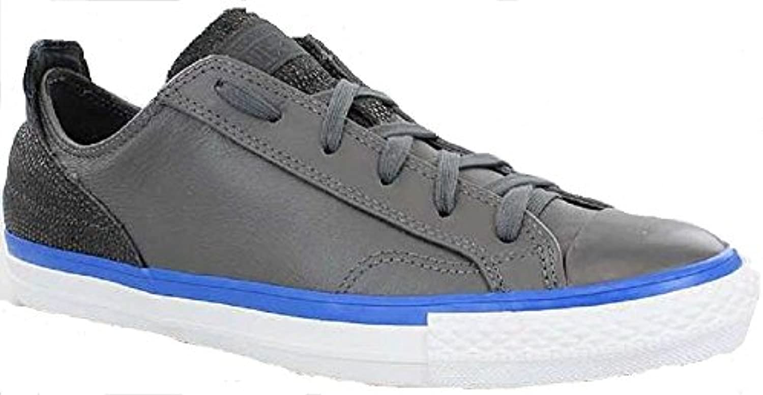 CONVERSE ALL STAR CHUCKS OX LEDER GRAU GREY SCHUHE 148644C GR:41