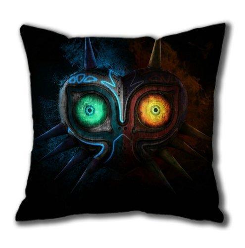 Video Game The Legend of Zelda Majora's Mask 005 Cotton Square Pillow Case by eeMuse Kissenbezüge 22x22Inch(55cmx55cm)