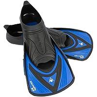 Aqua Sphere Microfin HP Schwimmen Training Fin, Unisex, Micro HP, Schwarz/