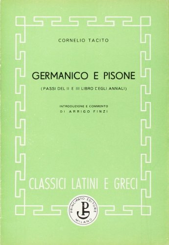 Germanico e Pisone