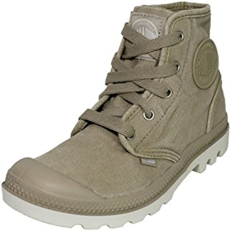 Palladium Pampa Hi Boots Stiefel Sneaker Turnschuh Canvas Damen Farbe:Beige;Schuhgrößen:39.5