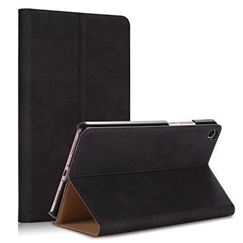 TenYll Xiaomi Mi Pad 4 Plus Hülle Xiaomi Mi Pad 4 Plus Schutzhülle [Ultra Schlank] [leicht] PU-Leather Tasche Case,mit Standfunction,für Xiaomi Mi Pad 4 Plus -Schwarz -