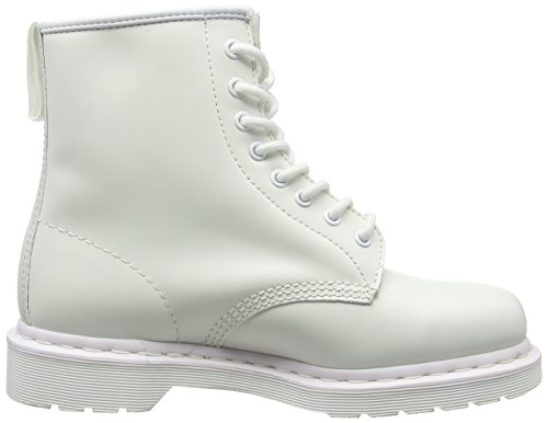 Dr. Martens Core 1460 Mono Smooth, Bottes Mixte Adulte Blanc (Purple)