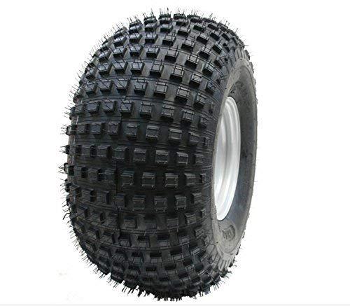 Parnells 22x11.00-8 Knobby Reifen auf 4 Bolzen Felge - Atv Anhänger - Vierfach-Rad 100mm Pcd Felge - Und Felge Anhänger-reifen