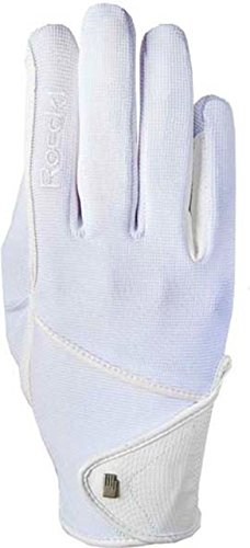 Roeckl Sports Handschuh Madison, Kinder Reithandschuh, Weiß 5