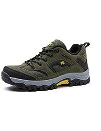 Scarpe da Trekking da Uomo Outdoor Low Top Professionale Antiscivolo  Traspiranti da Esterno per Sneaker Grigio 32f95316aa7