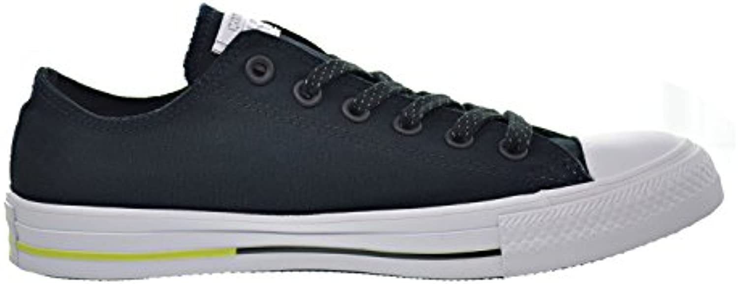 Converse Chuck Taylor All Star Ox Unisex Shoes Black/White/Volt 153798f