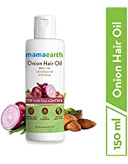 Mamaearth Onion Oil for Hair Growth Hair Fall Control with