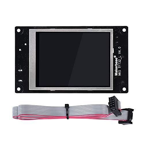 Kingprint Steuerboard mit Touchscreen und Farbdisplay für 3D-Drucker, MKS TFT32 3,2 Zoll Tft-touch Screen