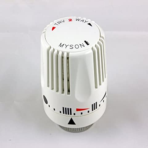 Myson Standard Thermostatic Radiator Valve Replacement Head Only (TRV 2