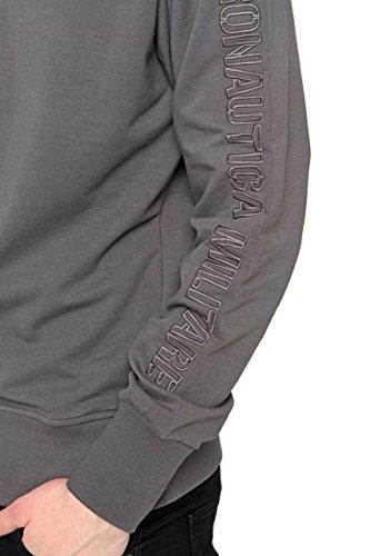 AERONAUTICA MILITARE CF_AM-HS9002 Sweatshirt mit dem Reißverschluss Harren DUNKELGRAU