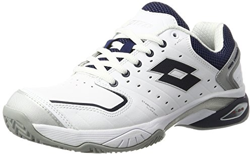 lotto-sport-raptor-lth-cly-zapatillas-de-tenis-para-hombre-blanco-wht-blu-avio-43-eu