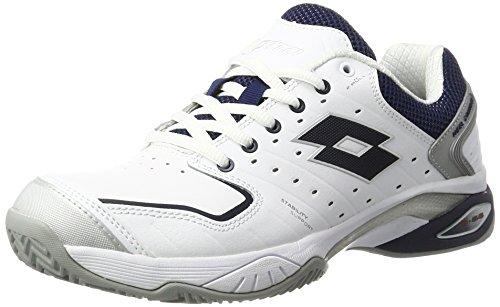 lotto-sport-raptor-lth-cly-chaussures-de-tennis-homme-blanc-wht-blu-avio-43-eu