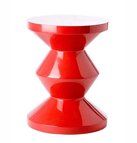 Hocker Zig Zag rot - pols potten, polspotten, Designhocker, Tisch, Deko, Dekoration, moderner Hocker, Design, Möbel, Stuhl, Sitzgelegenheit, Sitzhocker, stylish, besonders, ausgefallenes Möbelstück