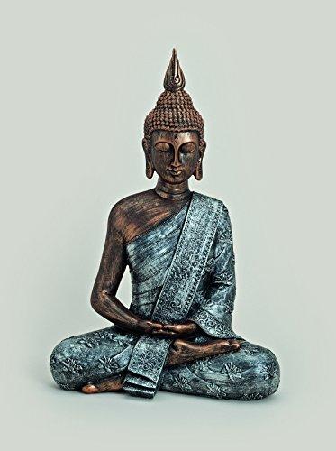 Bouddha cuivré argent)