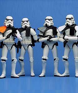 Star Wars Troop Builders III Sandtroopers 4-Pack Exclusive Mail-Away