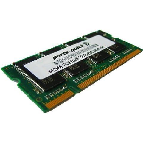Memoria da 512MB RAM per HP-Compaq Presario Notebook 2171US (PC2100) - Aggiornamento Memoria Laptop