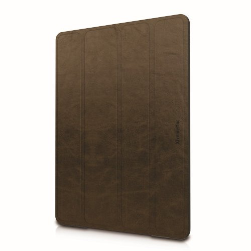 XtremeMac IPD-MFL5-63 Microfolio Leather Saddle Case für Apple iPad 5 Xtrememac Ipad