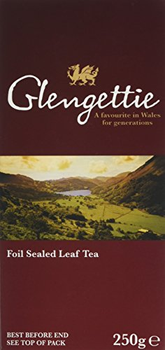 A photograph of Glengettie loose tea