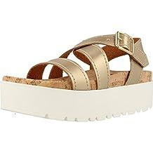 Sandalias y chanclas para mujer, color gold , marca MUSTANG, modelo Sandalias Y Chanclas Para Mujer MUSTANG 51735M Gold
