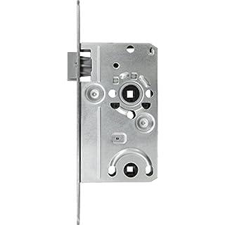 ABUS Tür-Einsteckschloss TKB10, für DIN-links Türen, silber, 20831