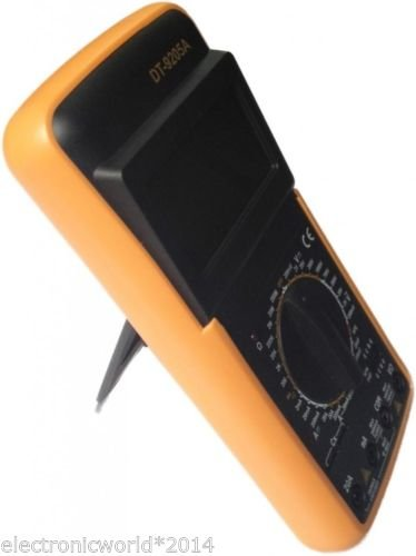 Generic DT9205A Digital Multimeter Capacitance Multi Meter With Probes