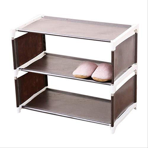 Lagerung Schuh Rack Schrank Organizer Halter Abnehmbare Tür Schuh Lagerung Schrank Regal Wohnzimmer Möbel l Kaffee (über Der Tür Ein Regal Klammern)