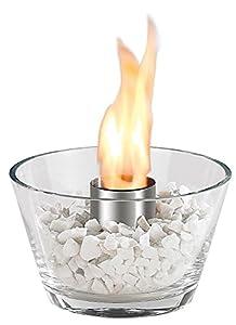 Holen Sie sich ein faszinierendes Flammenspiel für Garten, Terrasse & Co.Wenn die Sonne untergeht und ein frisches Lüftchen die Nacht ankündigt, beginnt es richtig gemütlich zu werden. Für  romantische Abende  ist dieses gläserne Deko-Feuer beson...