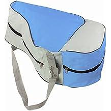 TININNA Bolso bandolera en-línea de/Roller/ice skate Bag Roller Patines Bolsa Mochila,Bolsa de almacenaje para patines-azul