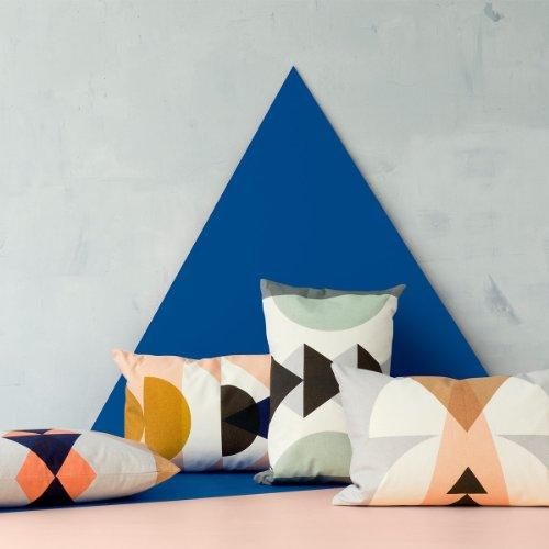 Ferm Living - Inka Cushion - Kissen - Grey - Grau -