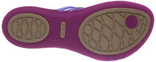 Crocs Huarache, Tongs femme Violet (Vibrant Violet/Ultraviolet)