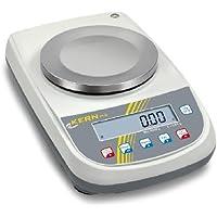 Balanza de precisión [Kern plj 1200 – 3 A] fuerte potencia, un Precio – con ajuste interna, rango de pesaje [Max]: 1200 g, Lectura [D]: 0,001 g, ...