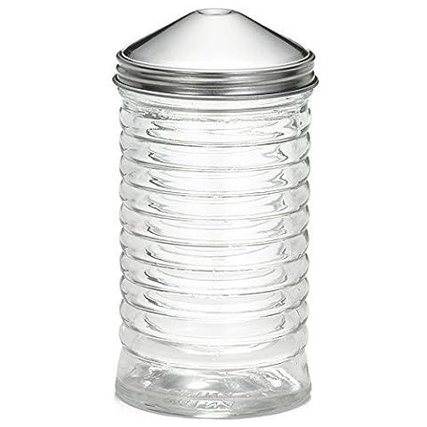 Sucrier en verre en forme de ruche avec Centre Pour Top 12 oz/sucre, le sucre de support