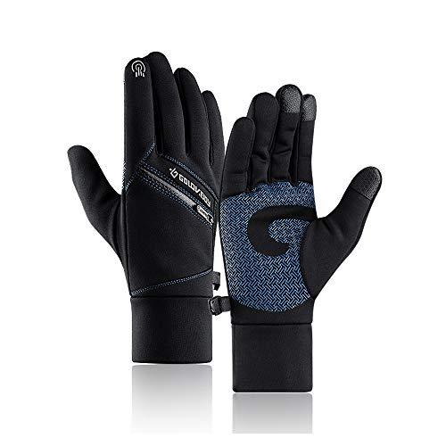 Winter Warm Gloves, Anti Slip Touch Screen Gloves